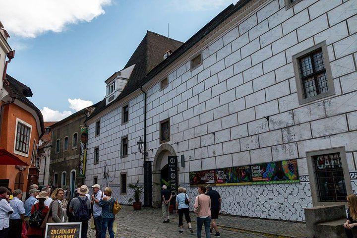 Grande centro de arte na cidade de Cesky Krumlov