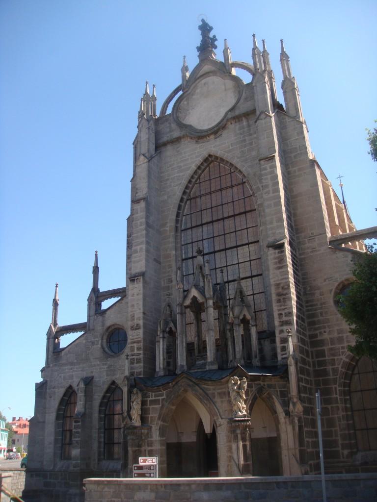 Catedral da Assunção da Nossa Senhora (Chrám Nanebevzetí Pany Marie), igreja listada no patrimônio mundial da UNESCO