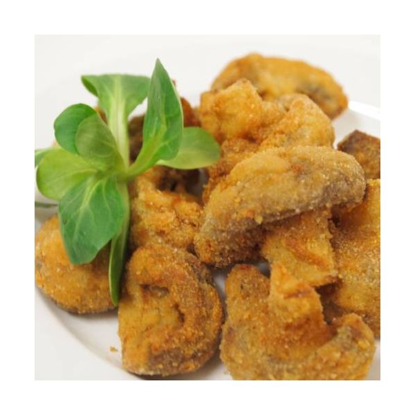 prato de cogumelos a milanesa