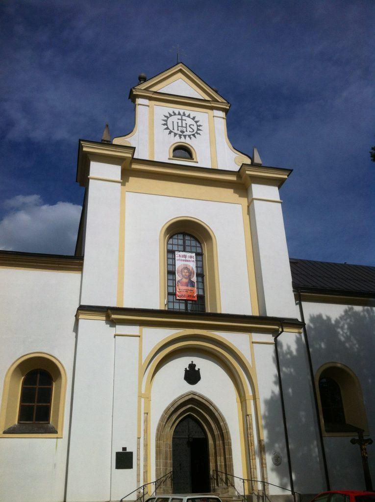 Igreja barroca que fica dentro do palácio de Žďár, na cidade tcheca de Zdar nad Sazavou