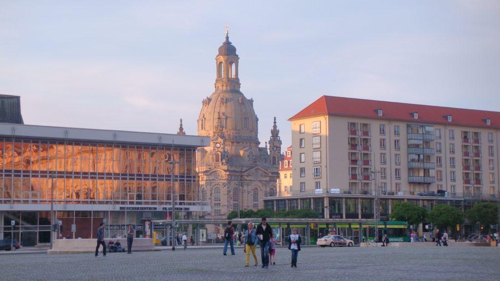 Monumentos da praça de Dresden