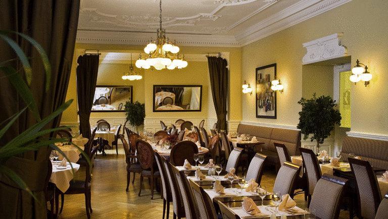 Salão de café da manhã do hotel Century Old Town Prague