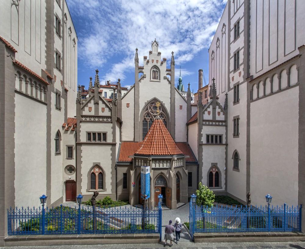 Prédio renascentista da sinagoga Maisel em Praga